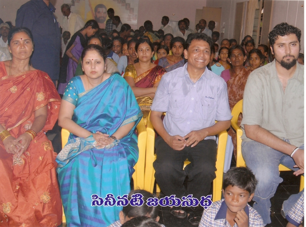 jayasudha at raja foundation